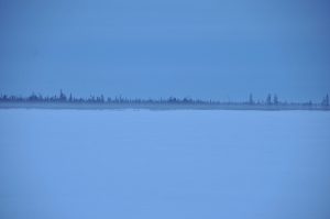 This isn't Romania, it's a snap that I took in Arctic Canada. But when I think of Romanians, I see this.